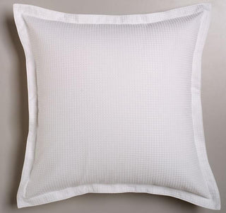 Logan and Mason Ascot Waffle White European Pillow Case