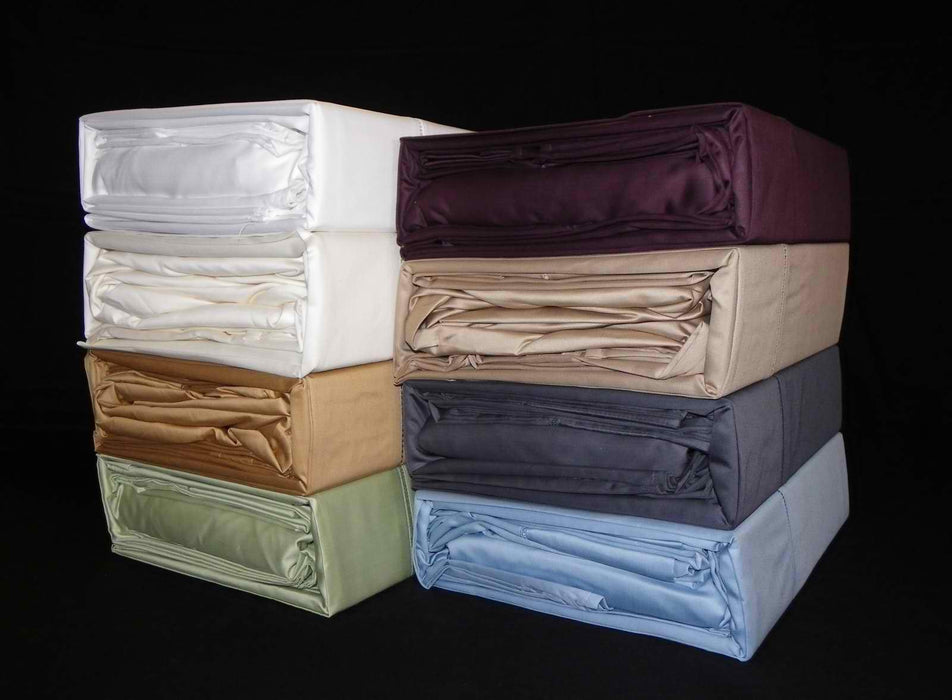Ramesses Egyptian Cotton 1100 Thread Count Sateen Sheet Set