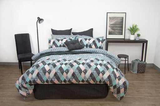 Apartmento Axel Blue Comforter Set