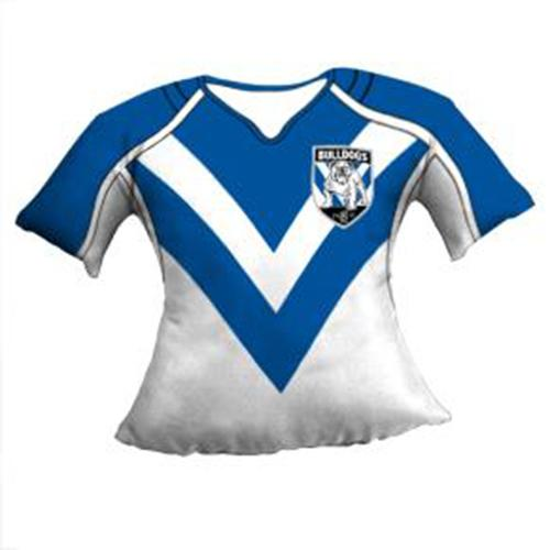 Official NRL Canterbury Bulldogs Jersey Cushion at  19.95 ... 24497a78556b