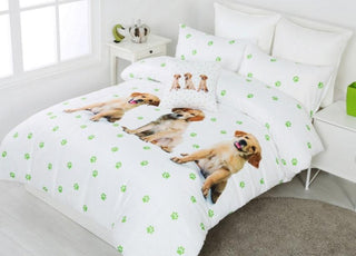 Georges Fine Linen Spot the Dog Quilt Cover Set or Accessories