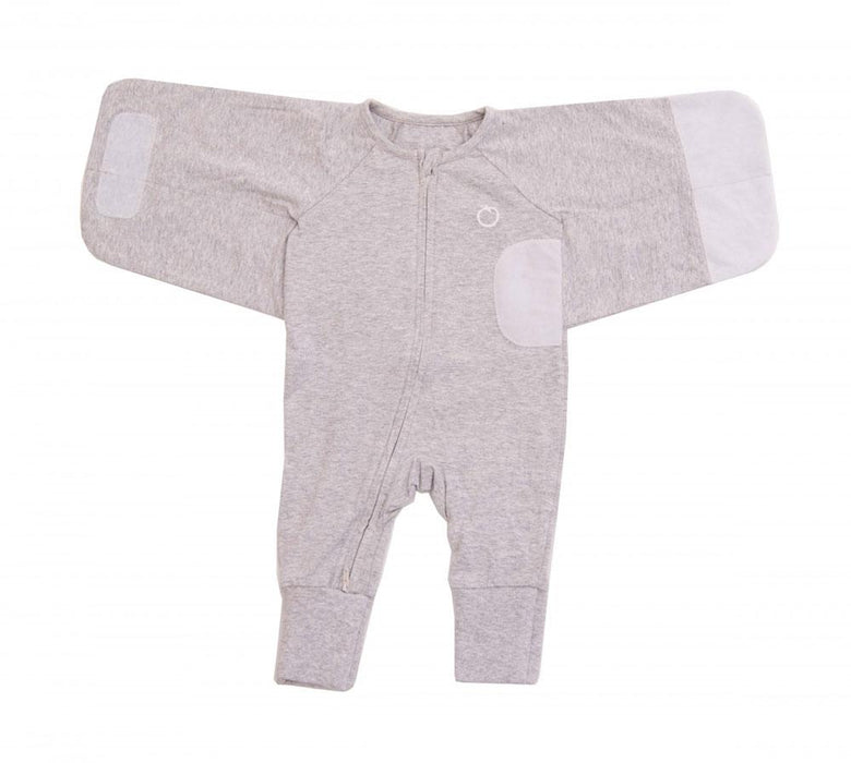 Plum 1.0 TOG Plain Grey Swaddle Suit