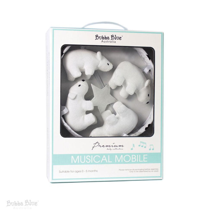 Bubba Blue Polar Bear Musical Mobile
