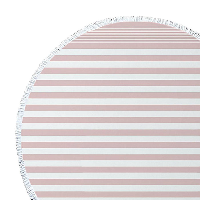 J.Elliot Turkish Round Beach Towel - Pink Sorbet