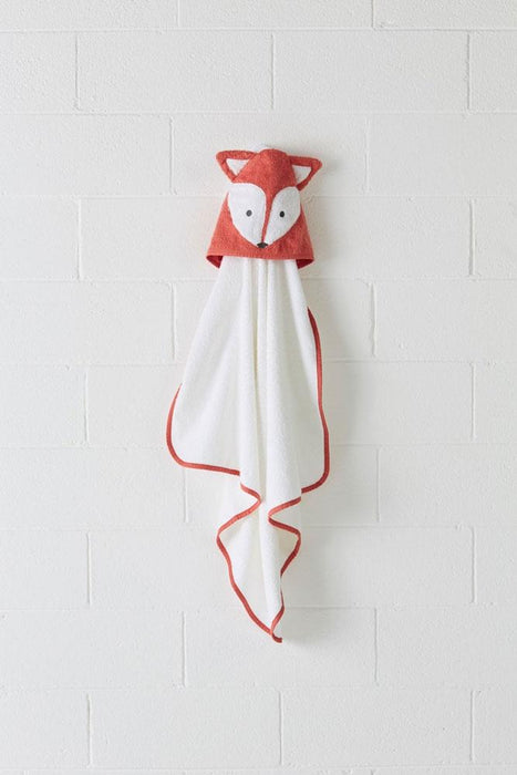 Hiccups Foxy Coral Hooded Bath Towel