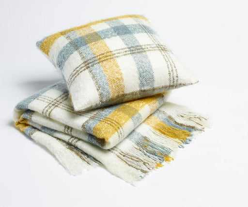 Season Edition Urban Check Cushion or Throw Rug