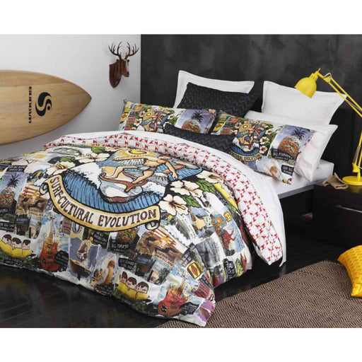 Mambo Road Trip Multi Quilt Cover Set