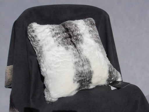 Lux Arctic Fox Faux Fur Cushion