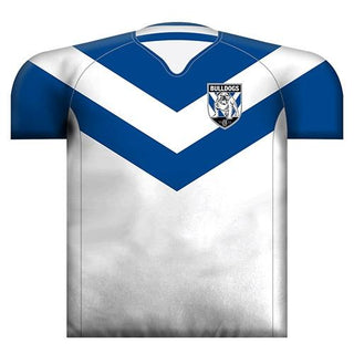 Official NRL Canterbury Bulldogs Jersey Cushion
