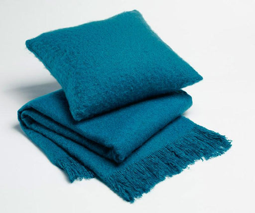 Season Edition Plain Cushion or Throw Rug - Teal
