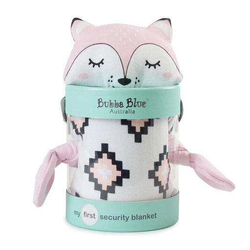 Bubba Blue Miss Fox Security Blanket