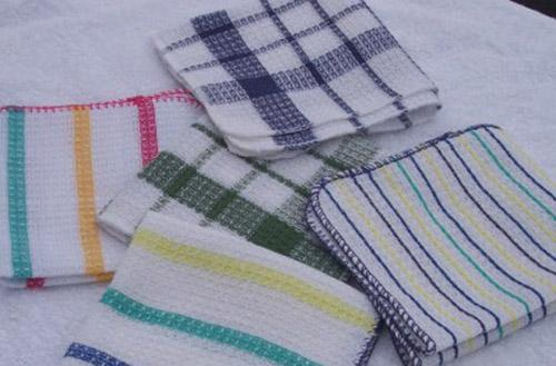 Cotton Dish Cloth 5 Piece (10 Pack)