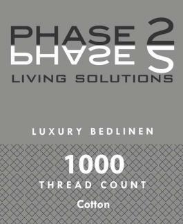 Phase 2 Living Solutions 1000 Thread Count Cotton Sheet Set