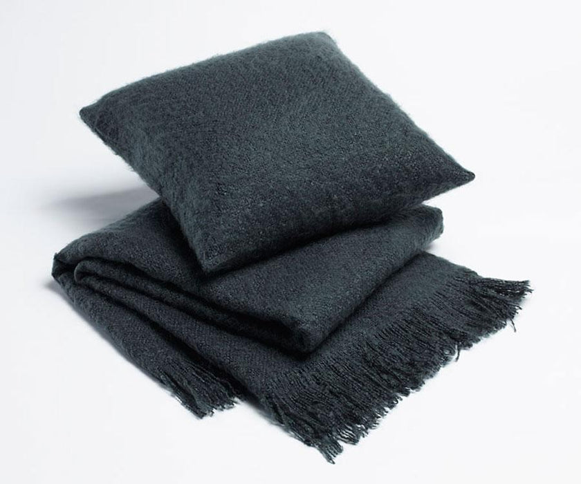 Season Edition Plain Cushion or Throw Rug - Charcoal