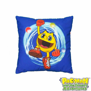Pac Man Square Cushion 41x41cm