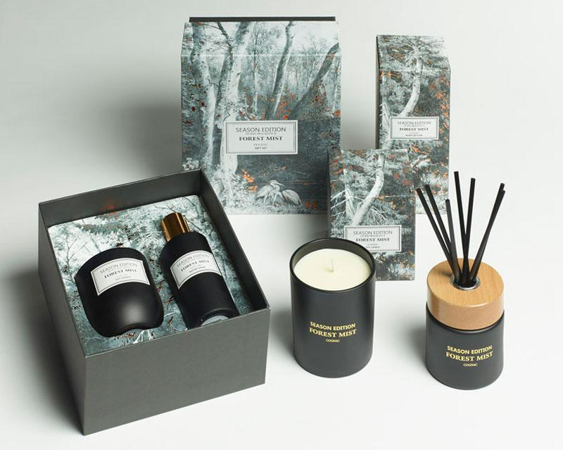 Cognac Forest Mist Gift Set