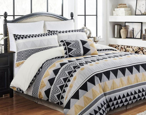 Perle Aztec Quilt Cover Set
