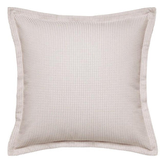 Logan and Mason Ascot Waffle Stone European Pillow Case