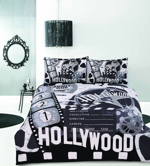 Retro Home Hollywood Quilt Cover Set