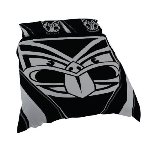 NRL Official New Zealand Warriors Supporter Quilt Cover Set