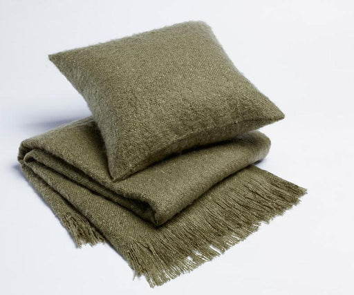 Season Edition Plain Cushion or Throw Rug - Hunter