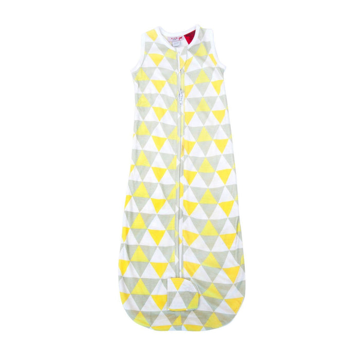 Plum 1.0 Tog Bamboo Jersey Unisex Triangle Lemon Sleep Bag