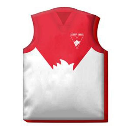 Official AFL Sydney Swans Guernsey Cushion
