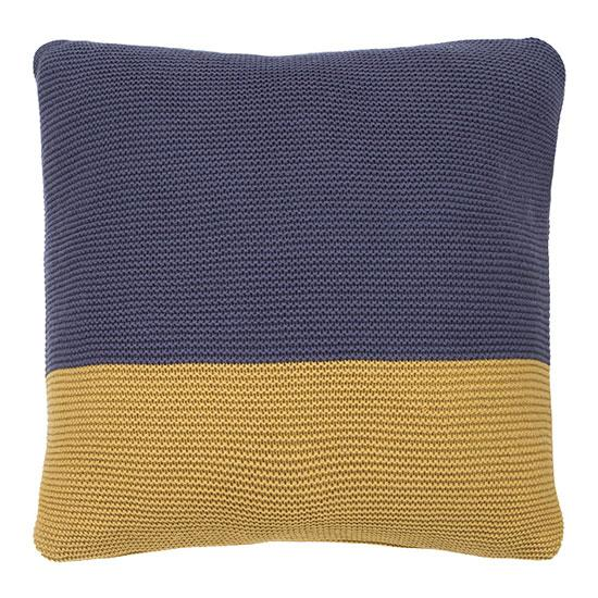 Bambury Slate/Ochre Dimity Throw or Cushion