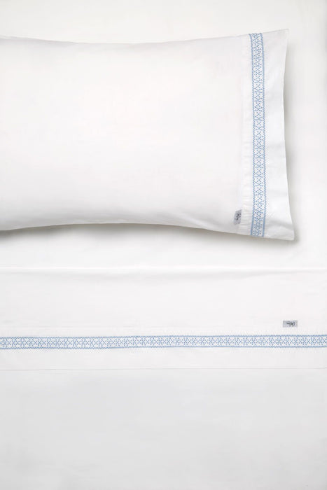 Collette Dinnigan Amalfi Blue Sheet Set