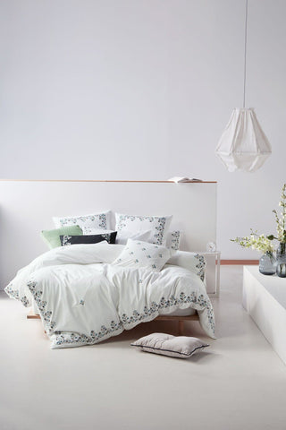 Linen House Darwin Mint Quilt Cover Set