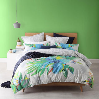 Logan & Mason Mirage Tropic Quilt Cover Set
