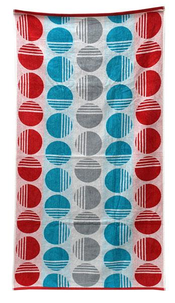 WAM Oracle Dots Beach Towel