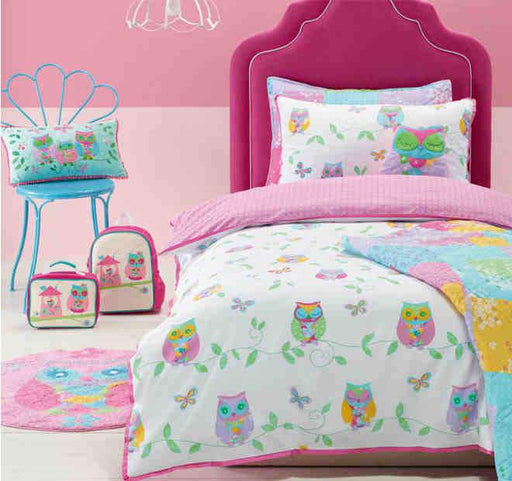Jiggle & Giggle Owl Song Quilt Cover Set