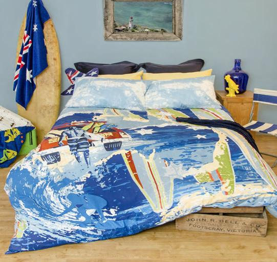Retro Home Australia Quilt Cover Set