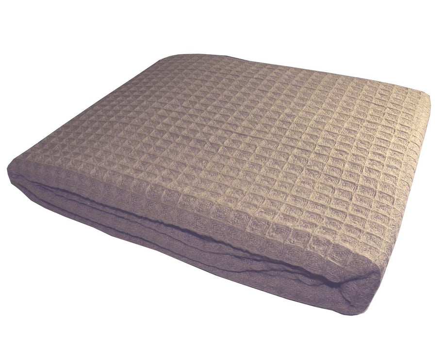 Penthouse Suite Luxury 100% Cotton Waffle Blanket