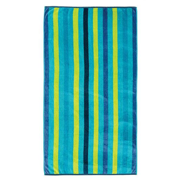 Linen House Beach Towel - Apollo Bay Blue