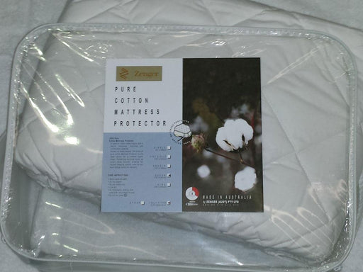 Zenger Pure Cotton Mattress Protector