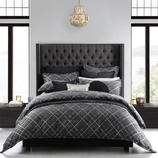 DaVinci Mancini Charcoal Quilt Cover Set or Accessories
