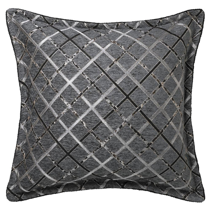 Da Vinci Mancini Charcoal Quilt Cover Set or Accessories