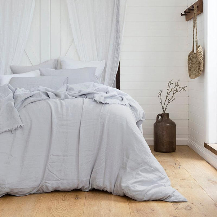 Bambury 100% French Linen Quilt Cover Set