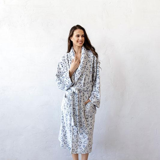 Bambury Leopard Bathrobe