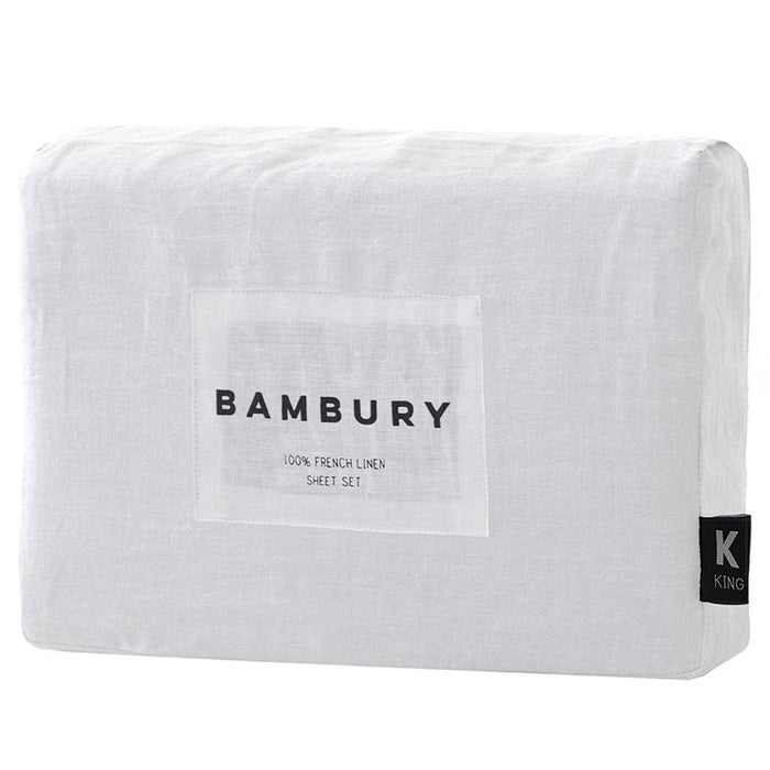 Bambury 100% French Linen Sheet Set