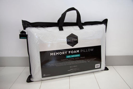Ardor Gel Infused Memory Foam Pillow (60x40cm)