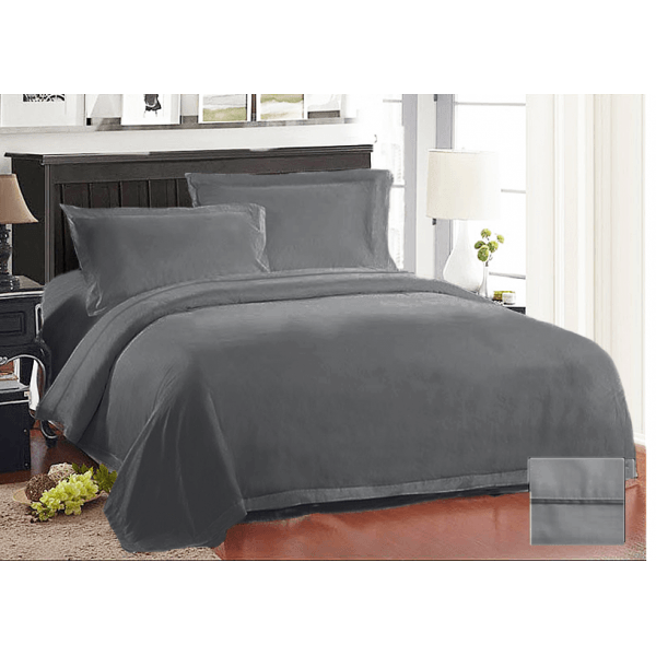 Ramesses Pima Cotton 1000 Thread Count Quilt Cover Set