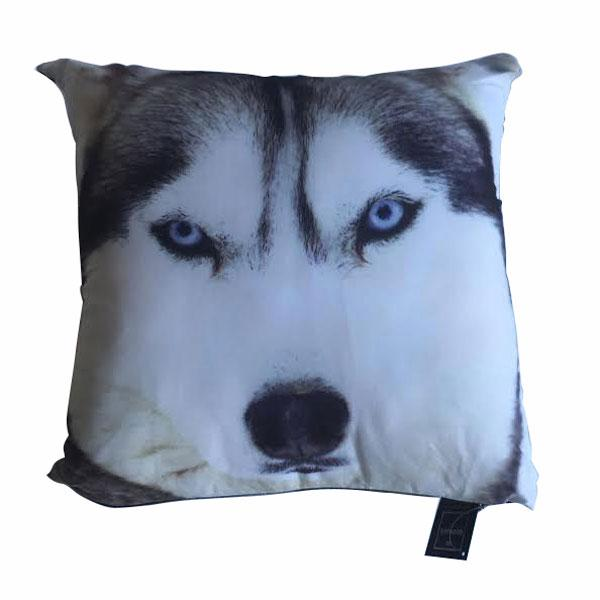 Georges Fine Linen Wolf Cushion (43 x 43cm)