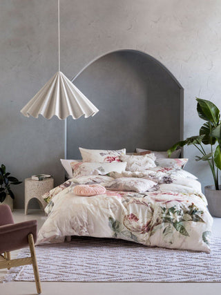 Linen House Sansa Ivory Quilt Cover Set