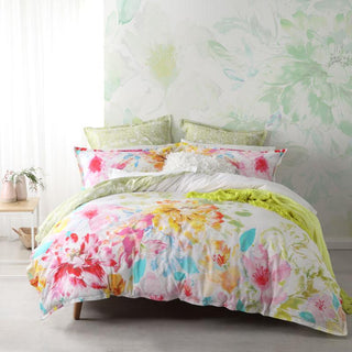 Logan & Mason Mackenzie Rose Quilt Cover Set or Accessories