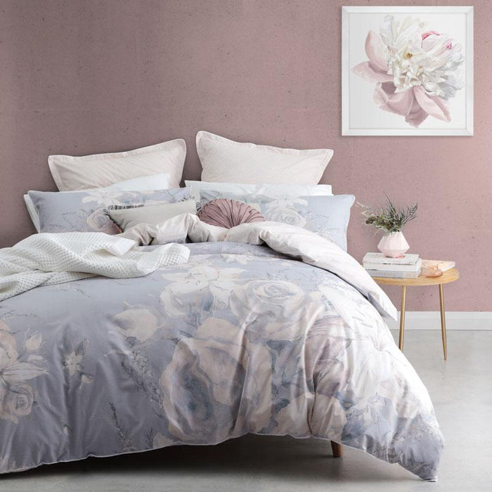 Logan & Mason Flora Dusk Quilt Cover Set or Accessories