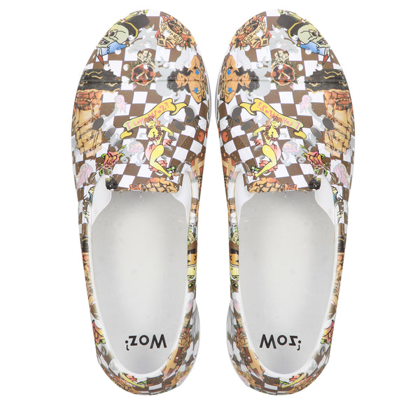 Woz Mens Cartoon Print Shoe - Ipanema India