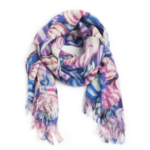 Scarf  Cashmere Sweet Candy Sky Colours